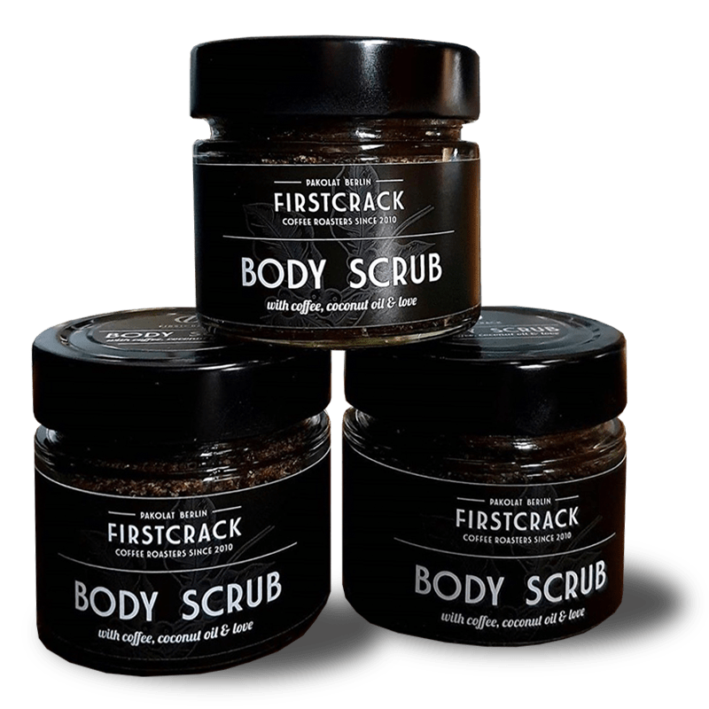 Body Scrub: Natural Skin Care made from Coffee and Coconut Oil